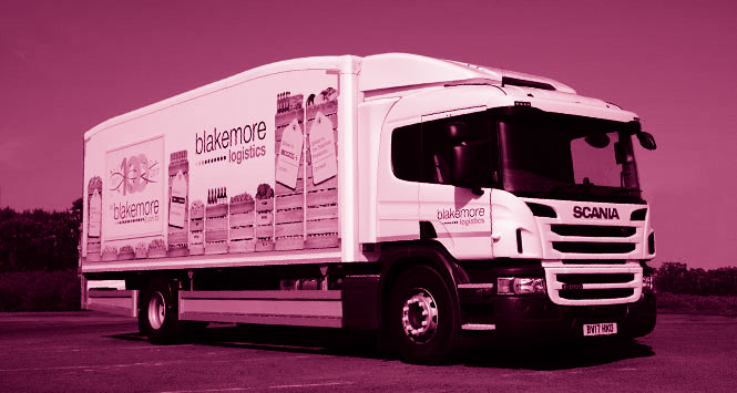 Blakemore delivery vehicle