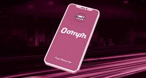 Oomph loyalty app